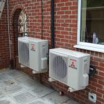 Domestic air to air source heat pumps