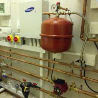 Samsung indoor heat pump