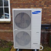 Domestic 6kW Heat pump