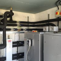 29kW Ground source heat pump - Devon